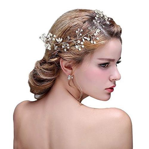 jaciya crystals wedding headband tocados nupciales dama hono