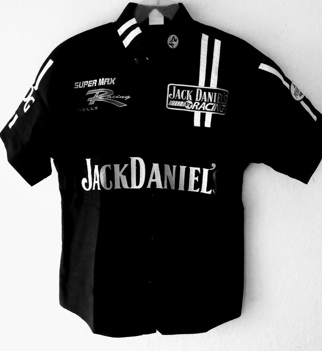 Jack Daniel Camisa Negra Escuderia Racing F1 Nascar -   548.00 en ... 8c4a58c74e154