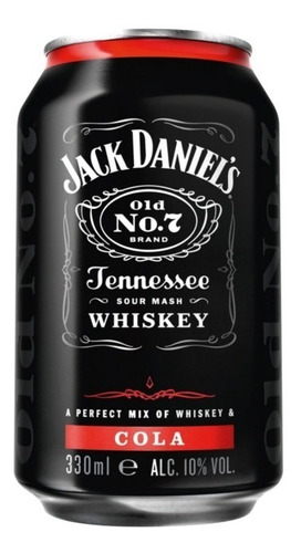jack daniels cola lata 330ml vol.5%