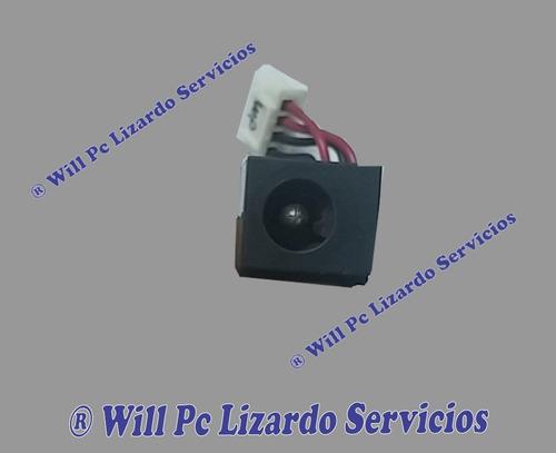 jack de carga (interno) para toshiba 2400 s201