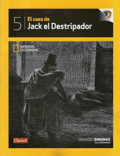 jack el destripador national geographic dvd + revista