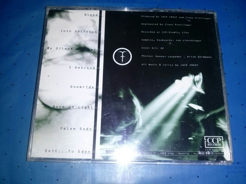 jack frost eden cd / seven witches savatage