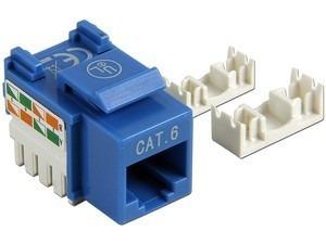 jack (inserto) lanpro cat6 us 8p8c azul