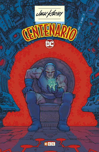 jack kirby centenario - dc ecc comics - robot negro