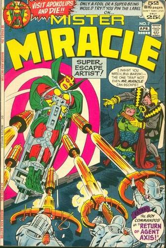 jack kirby - mister miracle nº 7 - comic original usa 1972