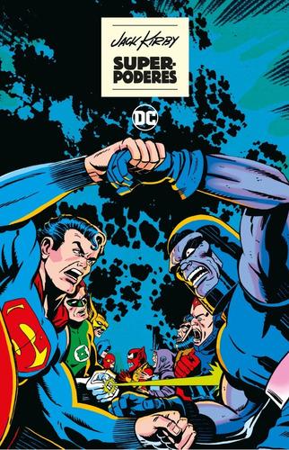 jack kirby superpoderes - dc ecc comics - robot negro