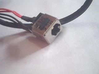 jack laptop toshiba satellite  l645d series adaptador nuevo