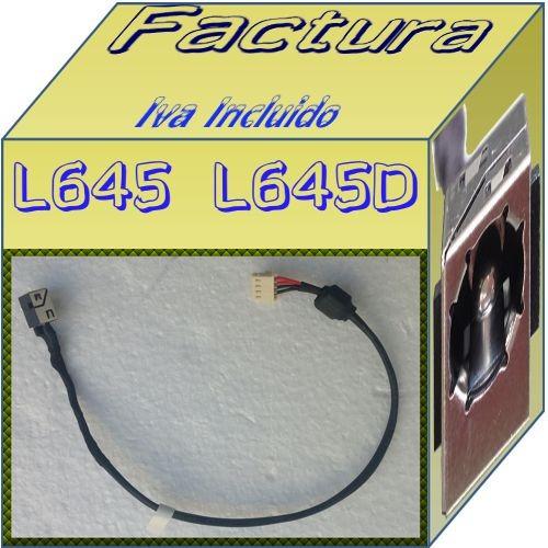 jack plug de corriente laptop toshiba l645 l645d au1