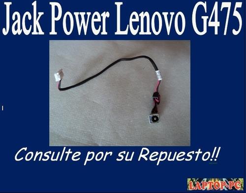 jack power lenovo g475