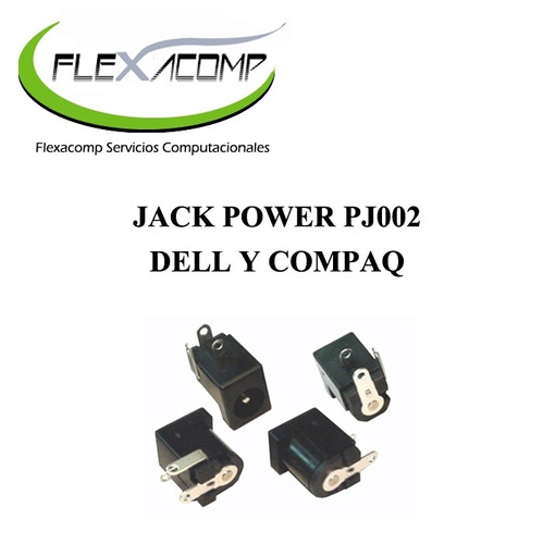 jack power pj002 para dell y compaq