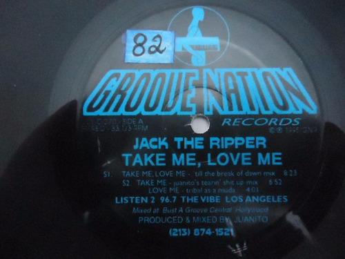 jack the ripper / take me love me vinyl lp acetato