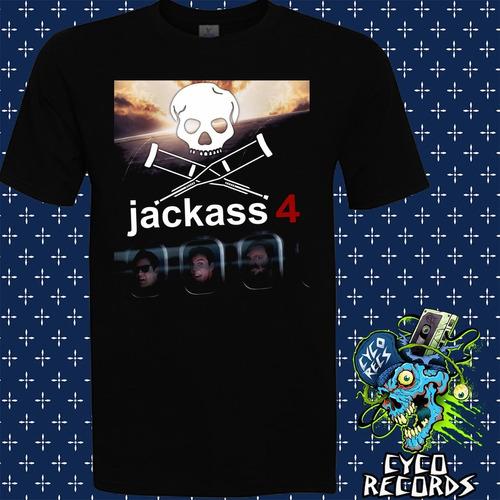 jackass_4 - peliculas de culto - polera- cyco records