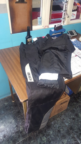 jacket y pantalón para moto