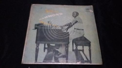 jackie davis and his trio hi-fi hammond  lp vinilo jazz