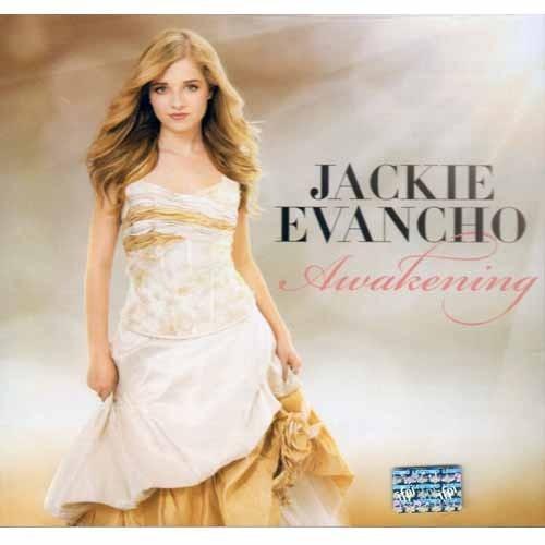 jackie evancho awakening disco cd  con 12 canciones