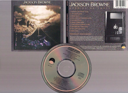 jackson browne - running on empty - cd - by maceo