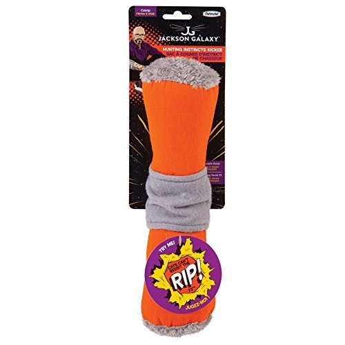 jackson galaxy 32453 ultimate bunny kicker juguete de gato c