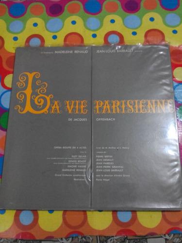 jacques offenbach lp la vie parisienne. made in france