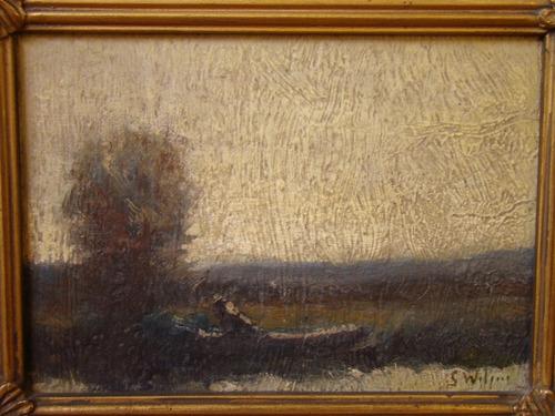 jacques witjens stephan. pintura argentina. oleo sobre tabla