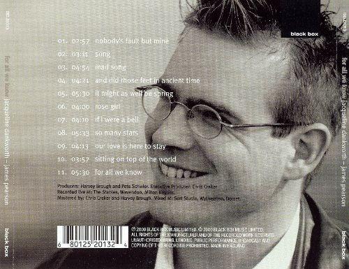 jacqui dankworth for all we know cleo laine cd jazz pvl
