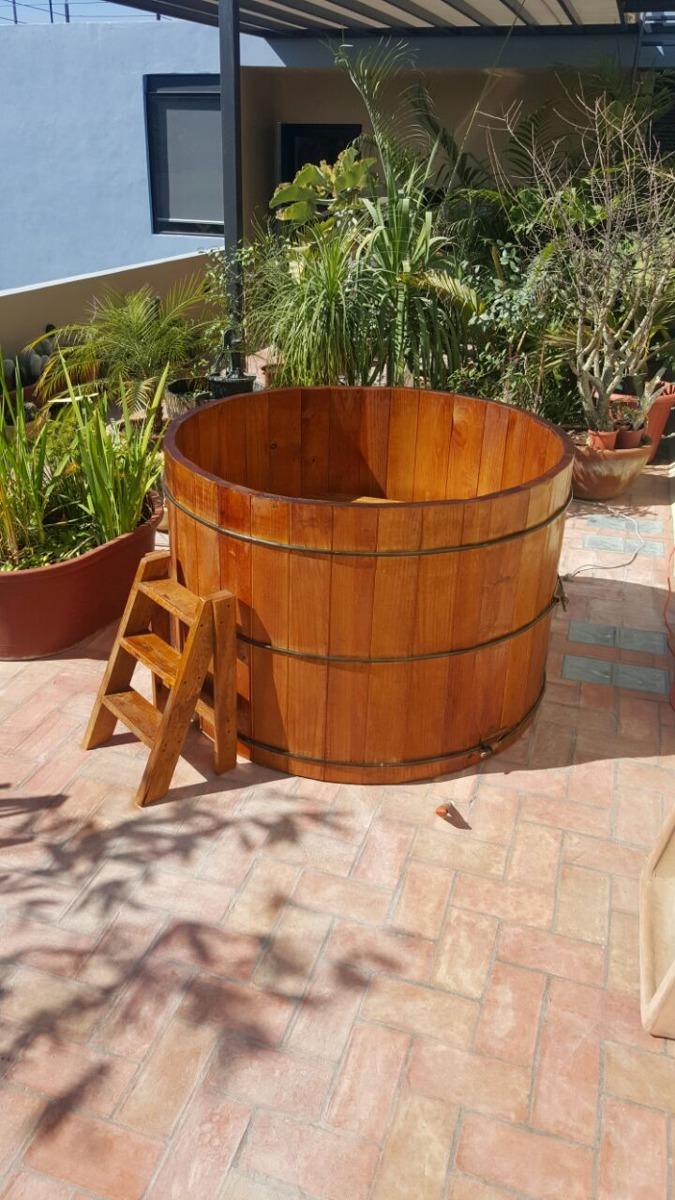 Jacuzzi alberca de madera para interior o exterior - Jacuzzi de exterior ...