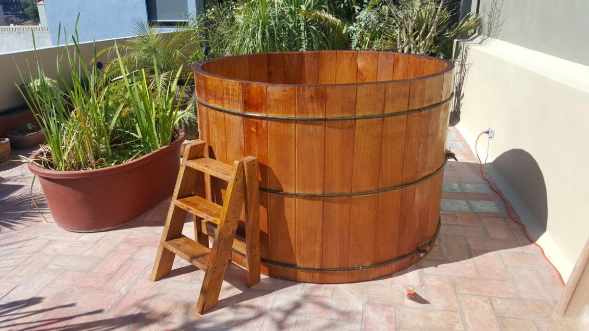Jacuzzi alberca de madera para interior o exterior for Jacuzzi para interior