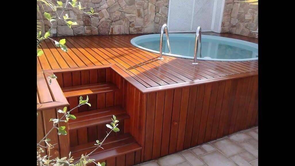 Jacuzzi exterior con deck en mercado libre for Jacuzzi piscina exterior