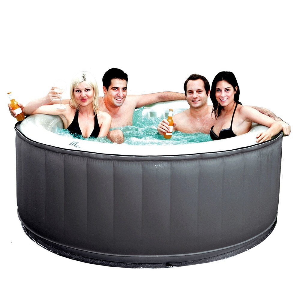 Jacuzzi inflable portatil inflable 4 personas hidromasaje for Medidas jacuzzi 4 personas