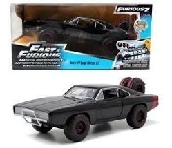 jada 1/24 fast & furious rapido y furioso7 dodge charger r/t