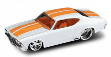jada big time muscle 1969 chevy chevelle - wave 3 (lacrado)