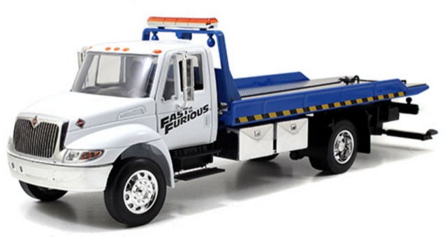 Jada Grua International 440 Flatbed 1/24 Rapido Y Furioso ...