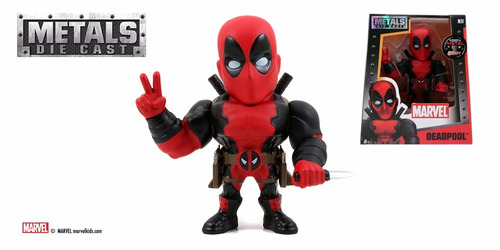 jada metal diecast m50 marvel deadpool  original sellado