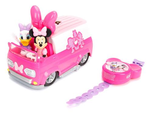 jada toys - control remoto minnie mouse van