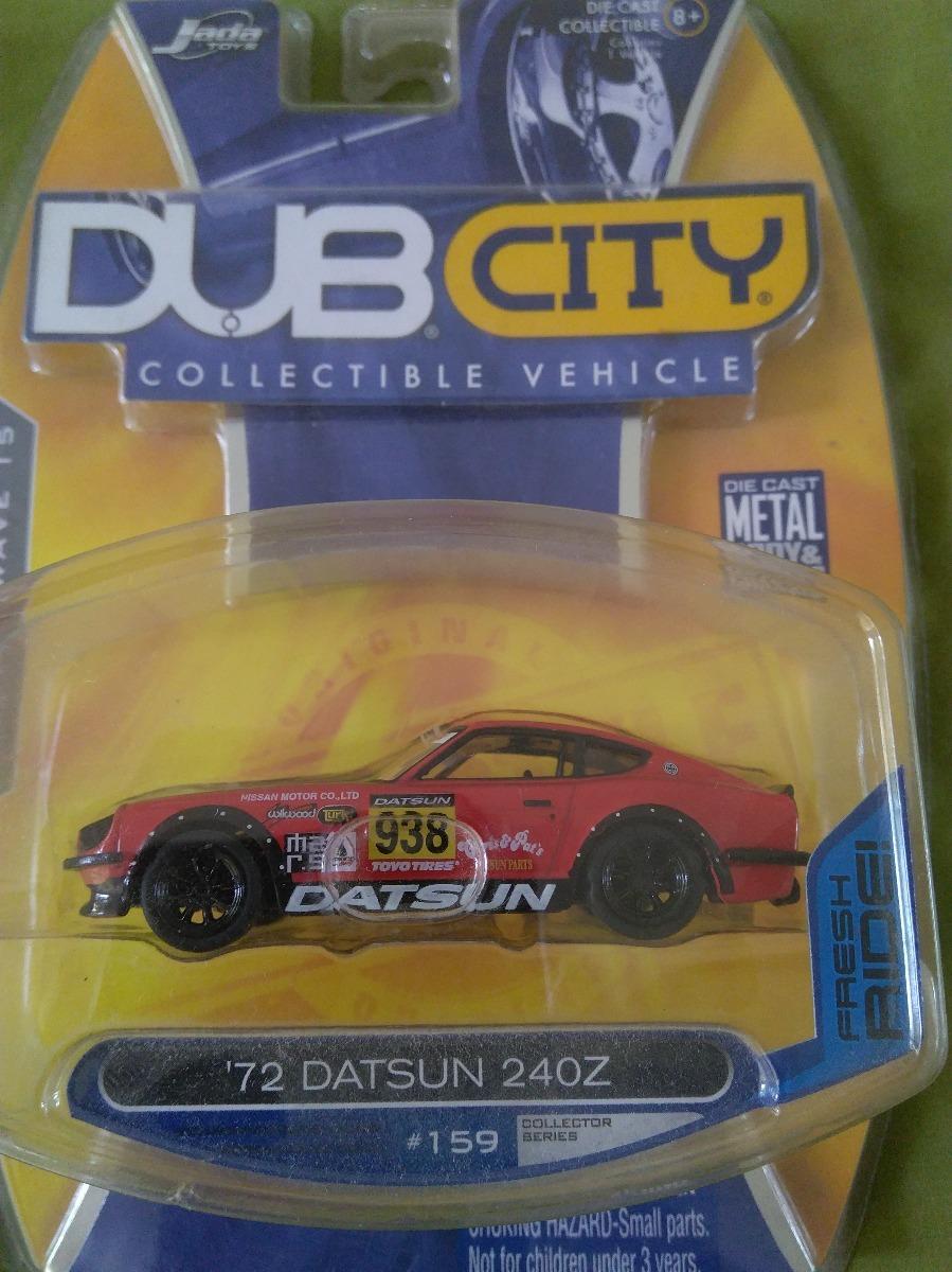 Jada Toys Dub City\'72 1972 Datsun 240z Negro/rojo 1/64 - $ 1,100.00 ...