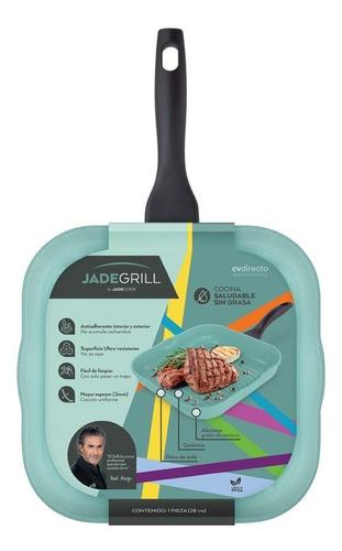jade cook - sartén grill cocina sin grasa - cv directo