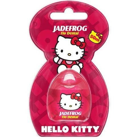 jaderfrog - hello kitty - fio dental