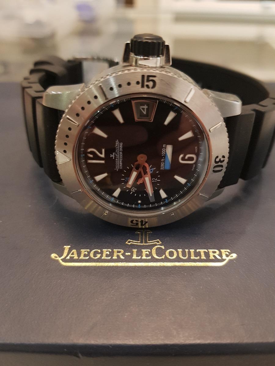 15025bc901d Carregando zoom... jaeger lecoultre master compressor men diving gmt  titanium