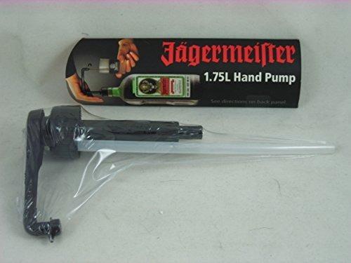 jagermeister 1.75l jager shot botella mano del dispensador