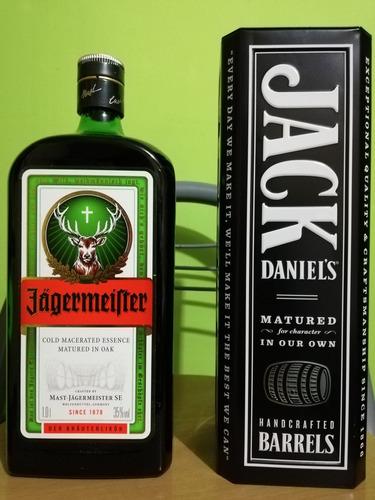 jagermeister 1lt 100% original / jack daniels