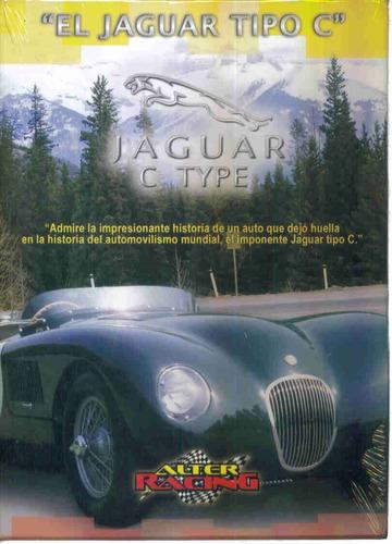 jaguar c type. formato dvd. coleccion autos