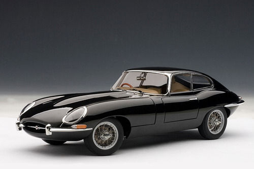 jaguar e-type coupé series i 3.8 escala 1:18 coleccionable