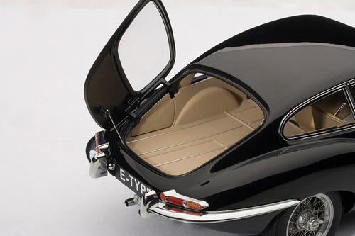jaguar e-type coupé series i 3.8 escala 1:18 coleccionable