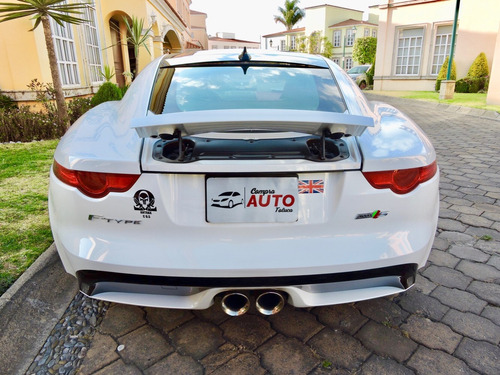 jaguar f-type 3.0 s coupe at 2017 factura original, tomo aut