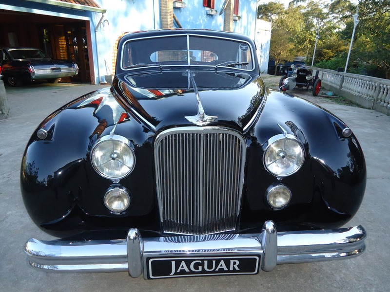 jaguar mark vii 7 placa preta