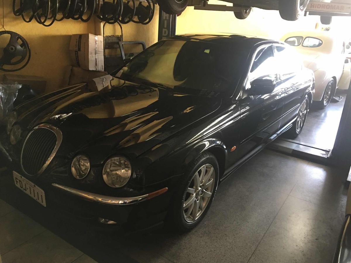 Jaguar S Type 3.0 2000 Apenas 50 Mil Km Impecavel Classico V. Carregando  Zoom.