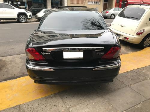 jaguar x-type 2.0 v6 se 2006 negro excelente