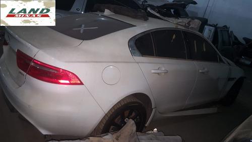 jaguar xe 2.0 pure 2016 - sucata para retirada de peças