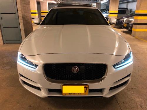 jaguar xe prestige 25t awd blanco rin 17 negros