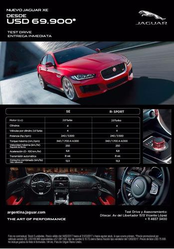 jaguar xe pure - financiación