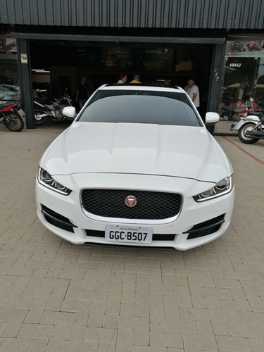 jaguar - xe pure tech - 2016